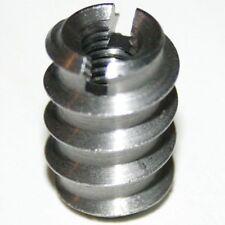 50 x Einschraub Muttern Holz Verbinder metrisch M8 Metall / Stahl verzinkt