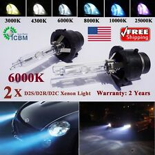 D2S D2C D2 AC OEM 6000k 8k HID Xenon Diamond White Bulbs Headlight Replacement