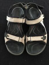 Ecco Womens Sports Sandals Shoes Tan Size 41
