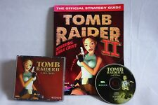 Tomb Raider 2 - PC CD Rom (Big Box Version) + Official Strategy Guide