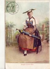 CPA AK Schweiz AARGAU LUZERN ZUG Women Jungfrau Jeune Femme Suisse Costume 1905