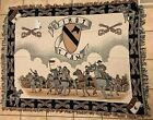 """NEW!! Riddle Home & Gift Tapestry, Cavalry Design, Wall Hanging 50""""x 64"""""""