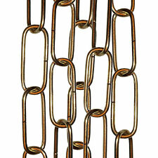 Lighting Pendant, Mirror or Picture Suspension Chain Polished Brass Finish 50cm