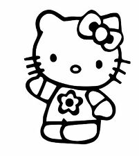 Hello Kitty vinyl car Decal / Sticker