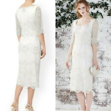 MONSOON WEDDING DRESS SIZE 12 IVORY EMBELLISHED ARTISAN E175 BNWT £349!!