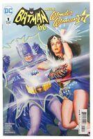 Batman 66 Meets Wonder Woman 77 Alex Ross Variant NM DC Comics Adam West 2017