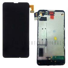 CARCASA Cubierta Protectora Trasera Cubierta de Batería para Nokia Lumia 635 Botones Negro UK