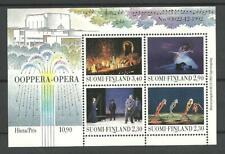 FINLAND - OPERA Music Culture M/S 1993 MNH