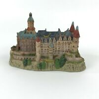 Danbury Mint The Enchanted Castles of Europe Ksiaz Castle Silesia Poland 1994