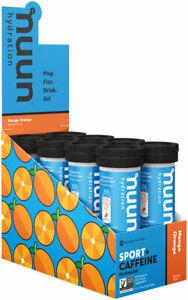 Nuun Electrolyte Sport + Caffeine Energy Drink Tabs Cherry Lime Aid Box of 8
