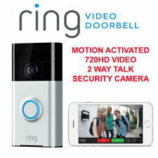 Ring Aluminum Doorbells, with Connected Home Product
