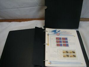 White Ace US Commemoratives Stamp Album Liberty Series 1973 - 1976 Mint Block