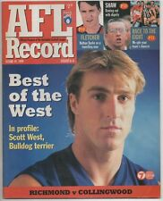 Football Record 1999 RICHMOND vs COLLINGWOOD round 19 NO INK PIES VICTORIOUS