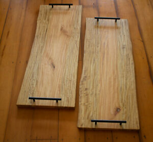 Handcrafted Grazing Boards Queensland Maple Slab Wooden Timber Charcuterie