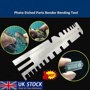 AJ0086 Model Ship Tank Photo Etched Parts Bender Bending Folding Tool UK