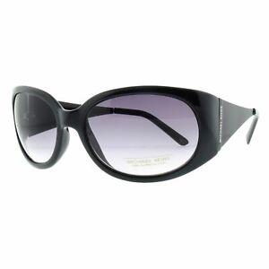 Michael Kors M3401S 001 Black Cat Eye 100% UV Grey Lens Women Sunglasses