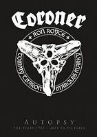 CORONER - AUTOPSY  4 DVD+CD NEUF