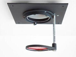 Durst Lens Board w/ Red Safety Filter for CE 1000 Laborator Darkroom Enlarger