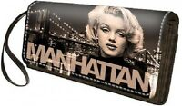 Portaglio Donna Marrone Disney Marilyn Wallet Woman Manhattan