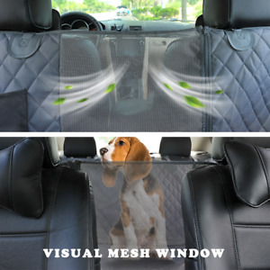 Dog Car Seat Cover Waterproof Pet Transport Dog Carrier Car Backseat Protector
