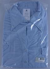 Air Canada Flight Attendant BRAND NEW Shirt Blouse Stewardess Uniform XL Blue