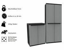 Kunststoffschrank Haushaltsschrank Schrank Gartenschrank Werkstattschrank - TOP