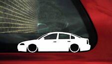 2x Slammed,low VW Passat B5.5 (b5 facelfit) outline silhouette stickers / Decals