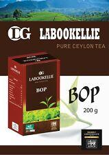 BOP Pure Ceylon Tea Sri Lanka Quality Finest All Labookellie Damro DG