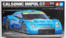 TAMIYA 1/24 Nissan Calsonic Impul GT-R R35 Super GT 2008 #24312 scale model kit
