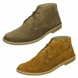 Lambretta Mens Casual Ankle Boots Carnaby