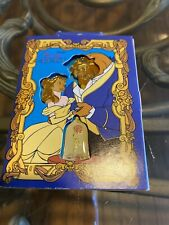 Disney Store Beauty & the Beast Belle Enchanted Rose Storybook 3 pc Pin Set NEW