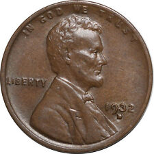 1932-D LINCOLN CENT - HIGH GRADE, NEARLY UNCIRCULATED - LOOKS CHOICE!