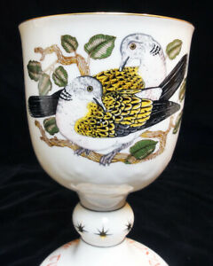 ROYAL DOULTON Goblet Twelve Days Of Christmas 2 Turtle Doves NEW IN BOX England