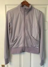 ADIDAS ladies violet tracksuit jacket size 12