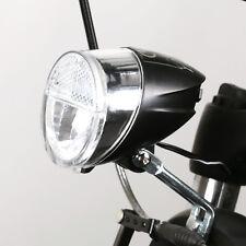 Fahrradlicht Vorderlicht LED-Frontscheinwerfer m. Helligkeitssensor 30 Lux StVZO
