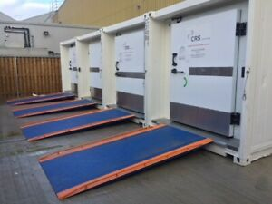 Hire used and New 10ft 20ft and 40ft refrigerated containers from £70 per week