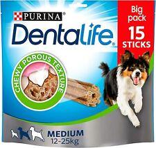 DENTALIFE Medium Dog Dental Chew, 15x23g - Pack of 3