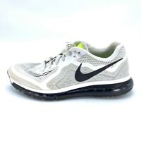 Nike Mens Air Max Running Shoes White Black 621077-100 2013 Lace Up Low Top 11