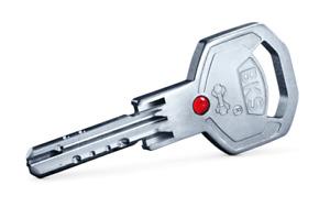 BKS Janus 4612 Profildoppelzylinder 31/35 Not & Gefahrenfunktion + 5 Schlüssel