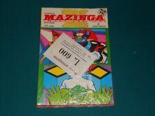 BUSTA il ritorno di MAZINGA Z n. 1 - 11 L.600 RAI TV1 Ed. EDIERRE 4 storie compl