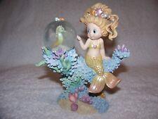 1999 Under The Sea, Rainbow Reef Figurine, Undersea Pals Mermaid, Hamilton Coll.
