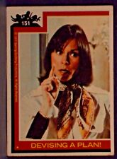 "1977 CHARLIE'S ANGELS Trading Card #151 "" Devising a Plan ! "" Ungraded"