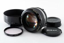 Excellent + + Nikon AI-S NIKKOR 50mm f/1.2 MESSA A FUOCO MANUALE obiettivo dal Giappone