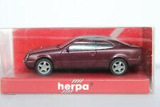Mercedes Benz CLK Klasse  C208  Herpa  1:87  rotmetallic