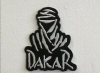 Dakar rally sports cars art badge Embroidered Iron or Sew on Patch lv