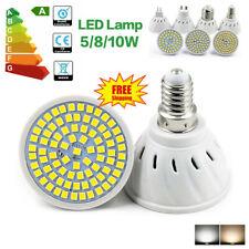 Bombilla LED E27 E14 GU10 lámpara 220V parche 2835 MR16 foco de luz fría blanca