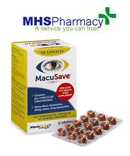 Macusave 90 Cápsulas OJO vitaminas con meso-la zeaxantina, la luteína y la zeaxantina