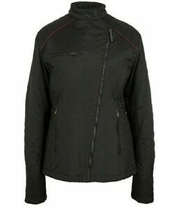 Jaguar Women's Drivers Jacket WOMEN'S DRIVERS JACKET £90 Black TAILORED FIT