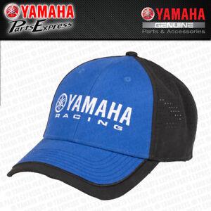 NEW YAMAHA RACING ESSENTIALS HAT BLUE BLACK STRAP BACK YZ YZF YFZ 250 450 R1 R6