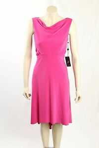 NEW Adrianna Papell- Size 8- Fuschia Formal Cocktail Dress-RRP:$140.00